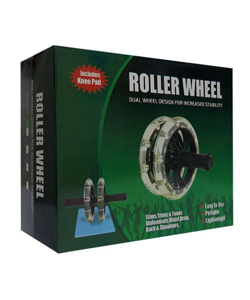 تصویر رولر شکم دو چرخ بلبرینگی