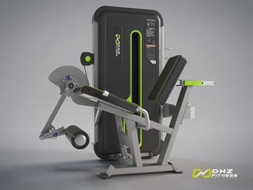 تصویر دستگاه بدنسازی پشت پا نشسته Dhz مدل E3023 مینی اپل