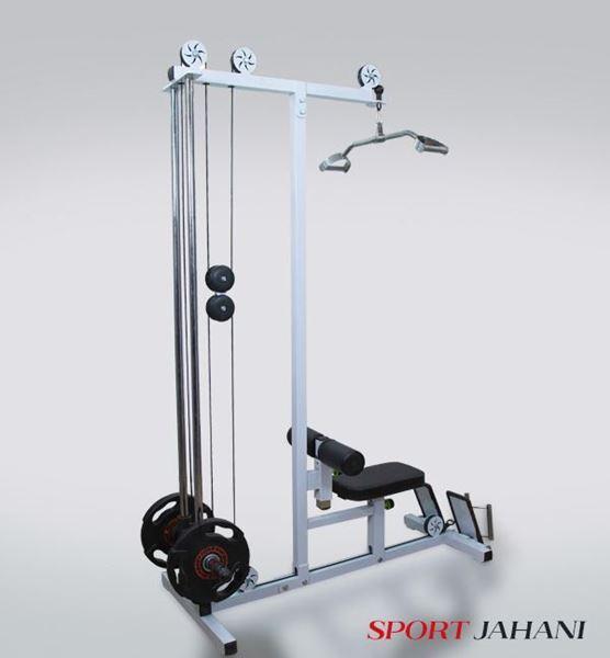 تصویر کششی وزن آزاد مولتی